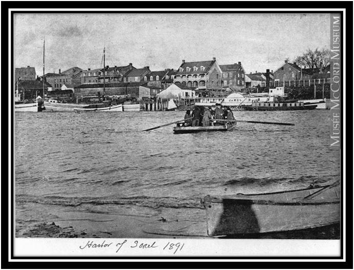 Hôtel Sorel en 1891 Archives du musée McCord