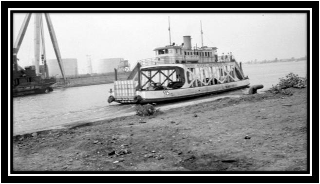 Le bateau passeur de Sorel à Berthier 1
