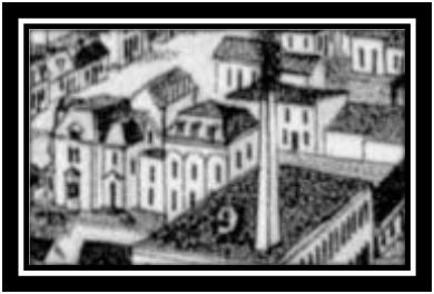 Maison Léonard Fosbrooke Vue à Vol D'Oiseau Sorel 1881 ANO