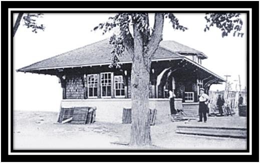 Gare de Sorel 1910 collection privé Leclerc