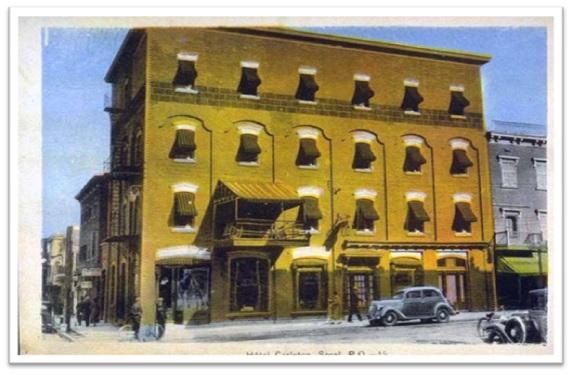 Hôtel Carleton vers 1920 Collection privée