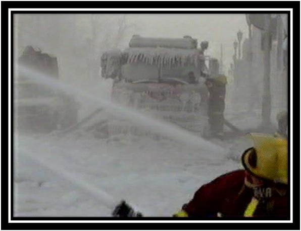 Les photos du feu du Centre Carleton en janvier 1999 Collection privée 3