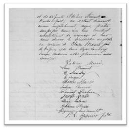 Contrat de mariage de Louis Frecynet et Victorine Masse le 13 avril 1880-2