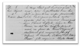 Contrat de mariage de Louis Frecynet et Victorine Masse le 13 avril 1880