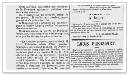 Le Journal de Trois-Rivières le 12 novembre 1879