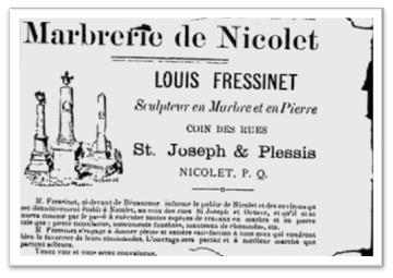 marbrerie de Nicolet