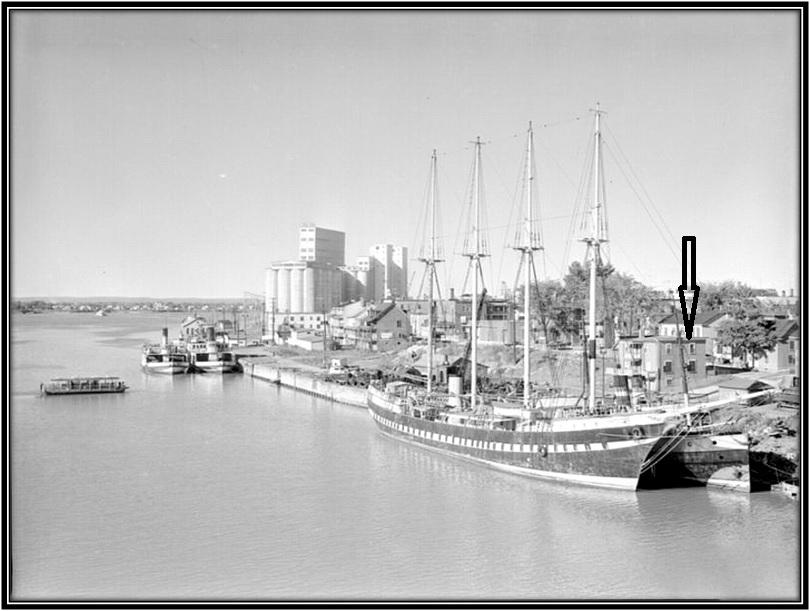 Après 1930 ANQ E6,S7,SS1,P212826 Bureau office Sincennes Mac Lines Limited