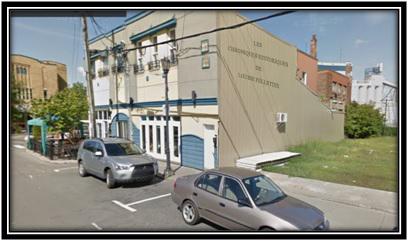 Photo Google Mapp une partie du restaurant La Fougasse Hôtel Piché 33/ rue Augusta lot 468