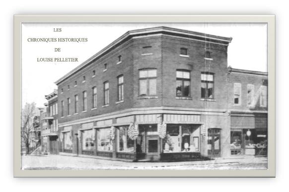 Cette photo date 1900 ANQ. Je tiens à préciser à droite de la photo. C'est le magasin Joseph Paul en 1910.