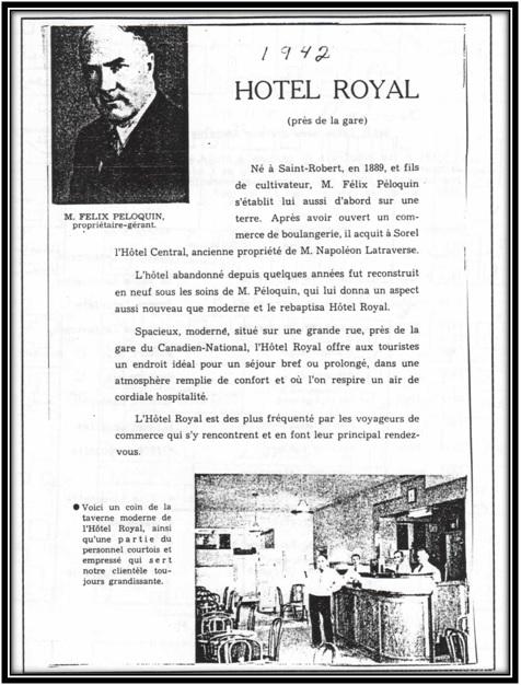 Bottin téléphonique de Sorel 1944 Bibliothèque de Sorel