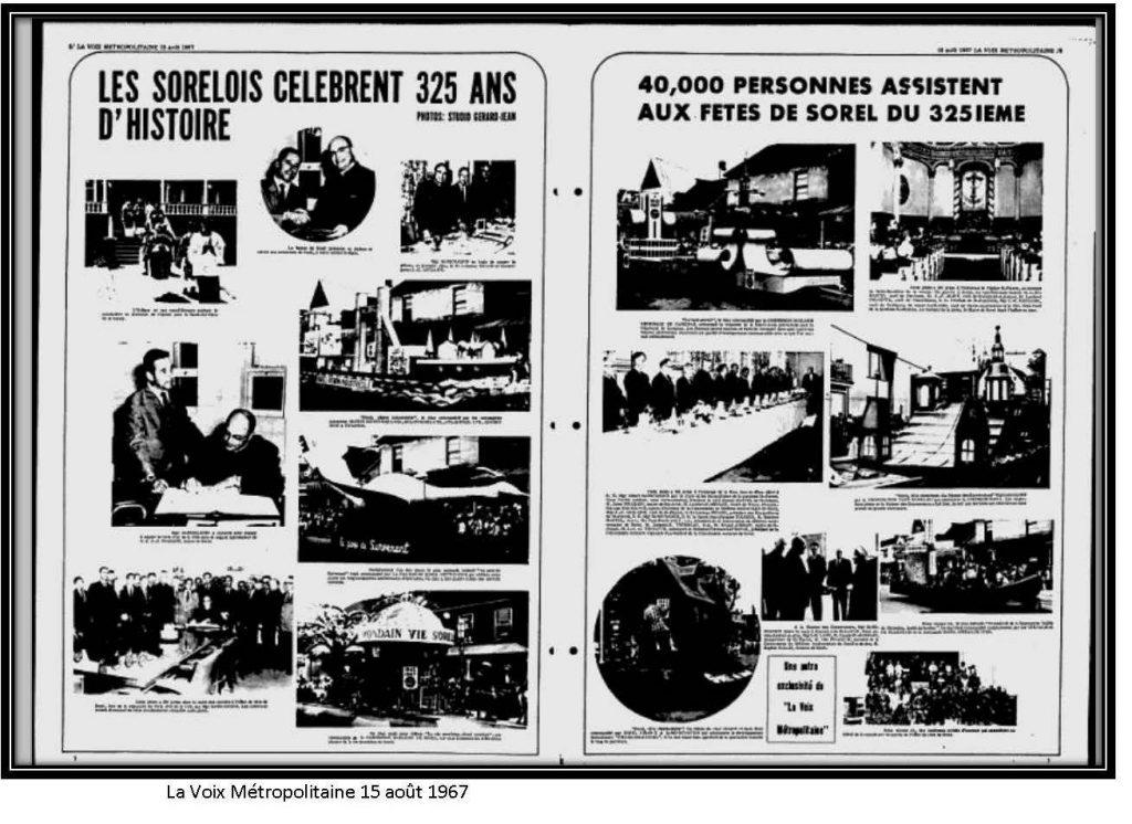 La voix métropolitaine du 15 août 1967