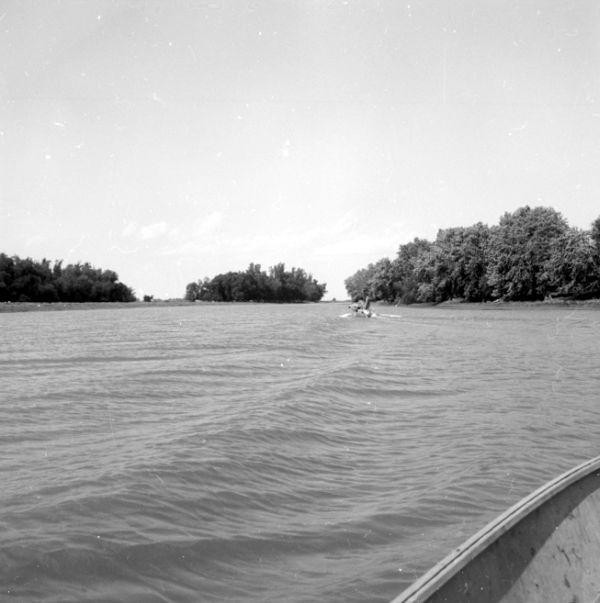 10-Île de Rouche dans la rivière Yamaska 1955