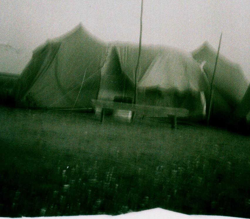 15-Tente à l'anse du Fort en 1966