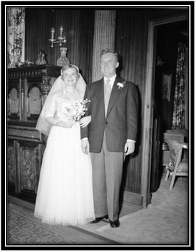Lydine Simard et Édouard Papin