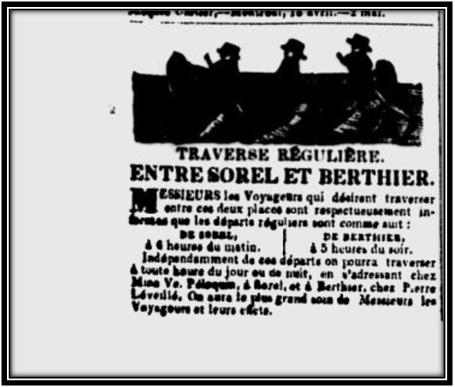 Journal Les Campagnes 3 juillet 1850 Archives Nationales du Québec
