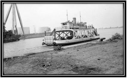 Traversier des années 1960 non identifié Archives Nationales du Québec