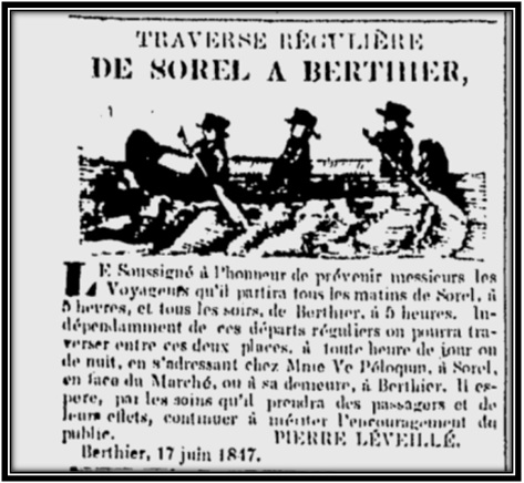Journal Les Campagnes 20 avril 1847 Archives Nationales du Québec
