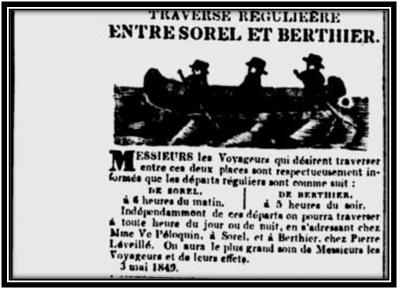 Journal Les Campagnes 3 mai 1849 Archives Nationales du Québec