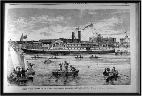 Journal l'Opinion Publique 1870-1883 Archives Nationales du Québec