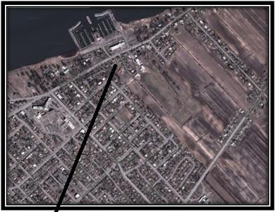 Google Mapp 2013 Lieu où étaient la maison et la ferme expérimentale St-Laurent