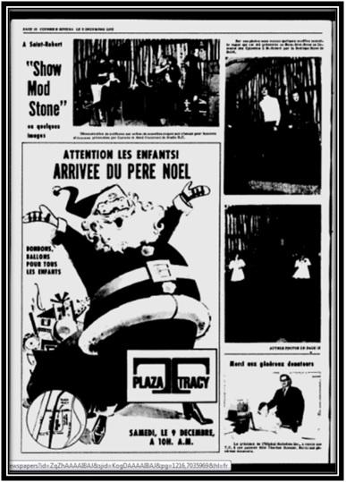 Le Riviera le 5 décembre 1972 Archives Nationales du Québec