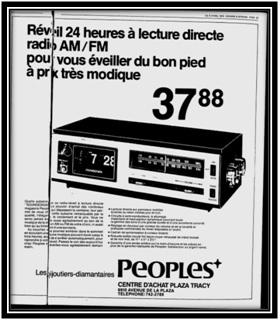 Le Riviera le 12 mars 1974 Archives Nationales du Québec
