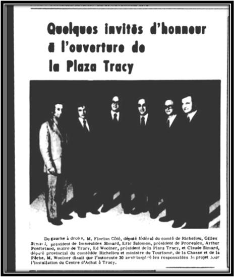 Le Riviera le 21 novembre 1972 Archives Nationales du Québec