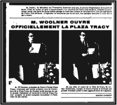 Le Riviera 21 novembre 1972 Archives Nationales du Québec
