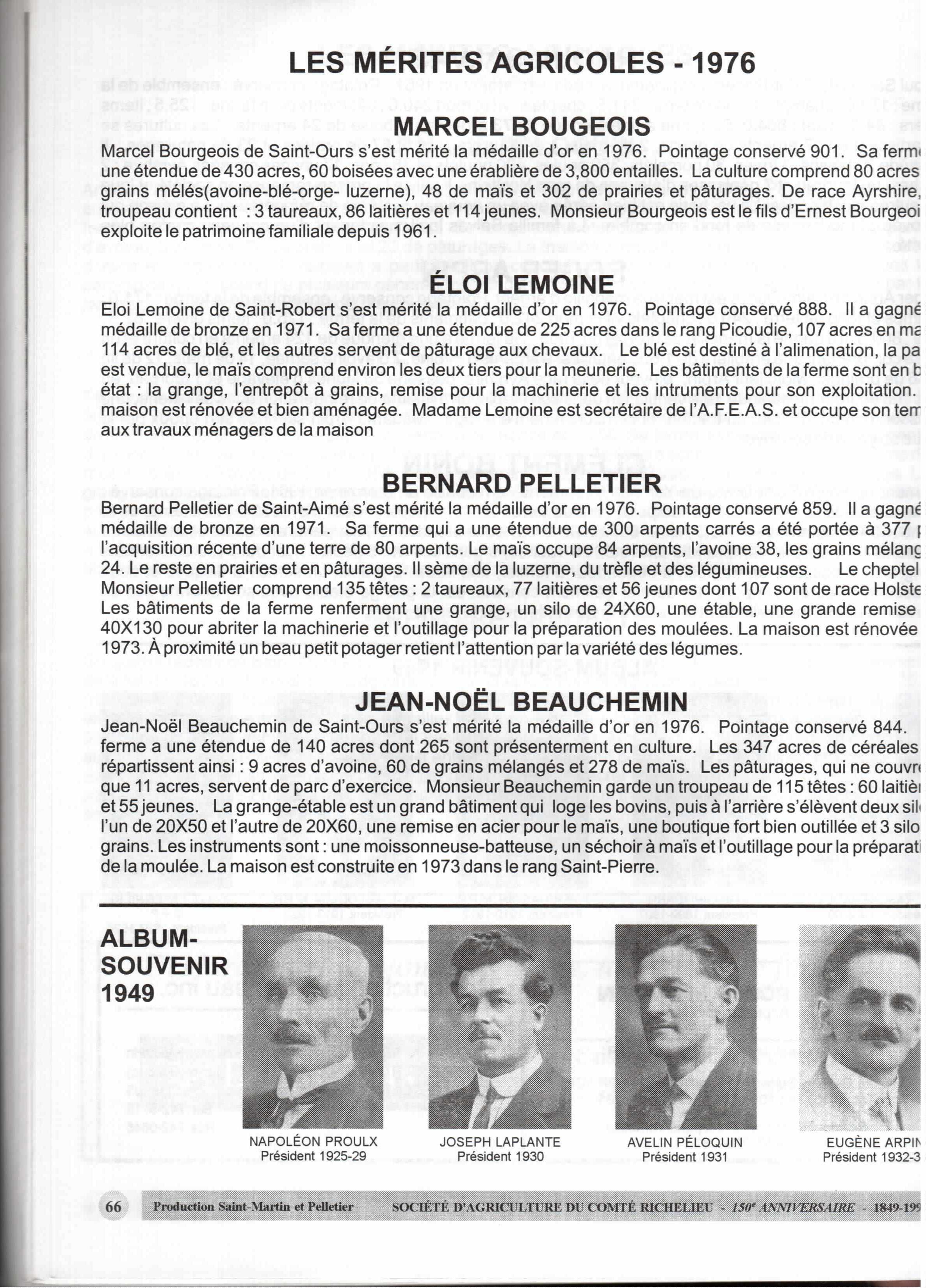 150 ans d'agriculture du comté de Richelieu (68)