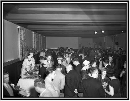 Le Banquet se tenait à l'Hôtel-Saurel.