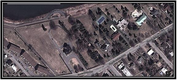 Google Mapp 2013,  Vue du 95 Chemin St-Anne à Sorel.