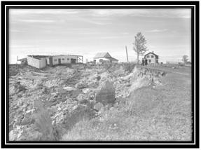 Glissement de terrain Saint-Aimé 1945 -1