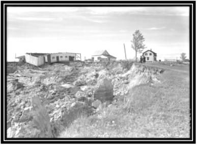 Glissement de terrain Saint-Aimé 1945 -11