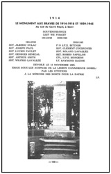 LA GUERRE 1914-1918 A SOREL 1