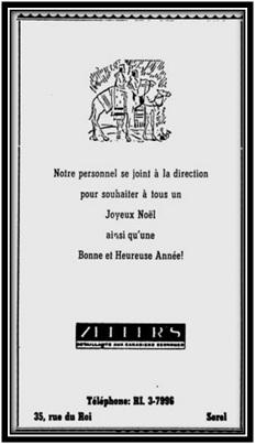Zeller's Sorel-tracy 19