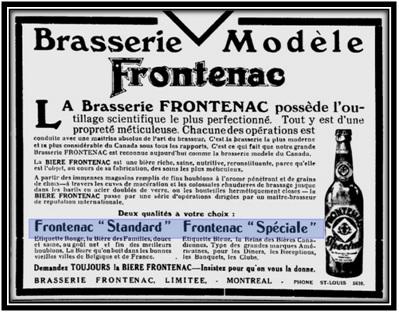La Bière Frontenac 2