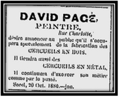David Pagé 1880 - 3